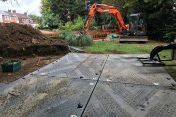 Ground cover mats- Tufftrak