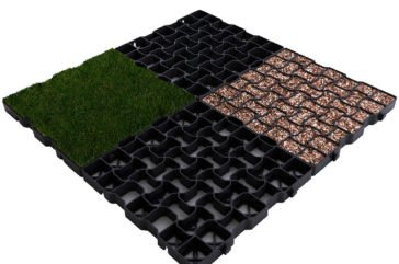 Geogrid back fill options