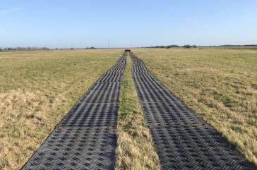 Duradeck grass protction mats
