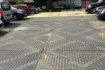 Track mat car park matting