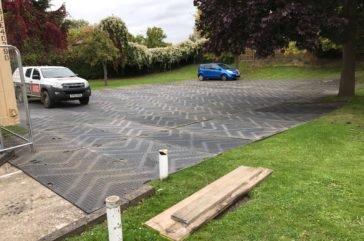Euromat site car park